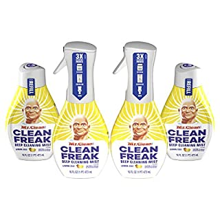 Mr. Clean Freak Deep Cleaning Mist Spray Refill, Lemon Zest