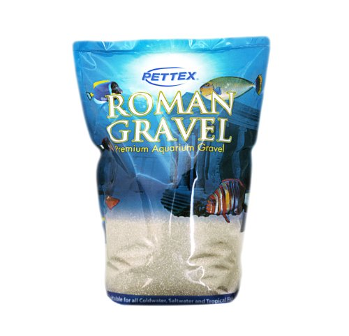 (Roman Gravel White Quartz Sand, 8 Kg)