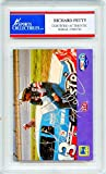 Richard Petty Autographed NASCAR Encapsulated Trading Card - Certified Authentic