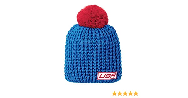 845b7560a6b Amazon.com  Under Armour Women s USA Knit Beanie One Size Fits All SCATTER   Sports   Outdoors