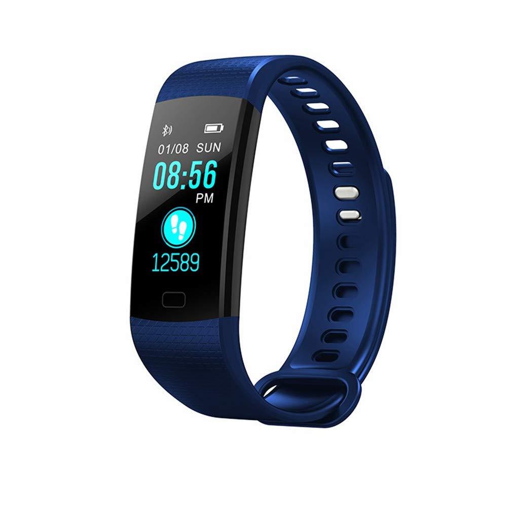 Directtyteam Fitness Armband Blutdruck Wasserdicht Schwimmen Unisex Adult Kinder AktivitäTstracker Herzfrequenz SchrittzäHler Fitness Tracker Mit Blutdruckmessung Android IOS (Lila)