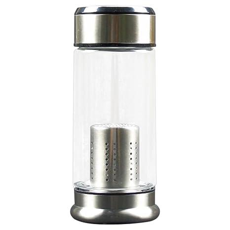 Nueva llegada de la manera 250 ml de agua de cristal caldera ...