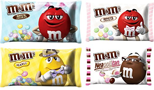"M&M SOLID MILK CHOCOLATE EASTER CANDY - ""Milk Chocolate"" ""Pe"