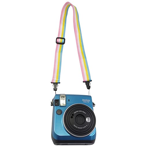 70 Instant Film Camera Alohallo Instax Mini Camera Shoulder Neck Strap Belt for Fujifilm Instax Mini 25// 8// 9// 90// 7S Polaroid Socialmatic// Z2300 Instant// PIC300 Instant Camera colorful
