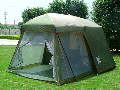 Double Layer Garden Tent 3 4 Person Large