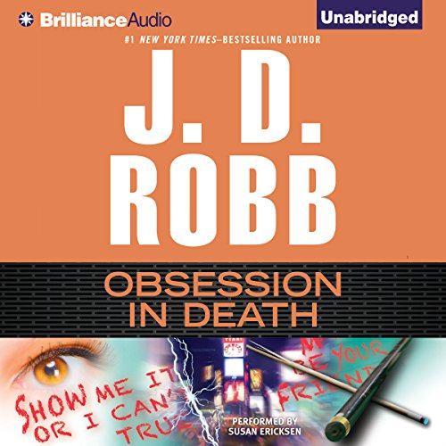 Obsession in Death: In Death, Book 40 Audiobook [Free Download by Trial] thumbnail