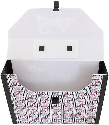 Pink//Black//White Barbie 11-2327 Bag Organiser
