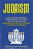 Judaism: Judaism for Dummies! From Dummies to Expert. History of Judaism. Beginners Guide for Learning the Basics of Judaism