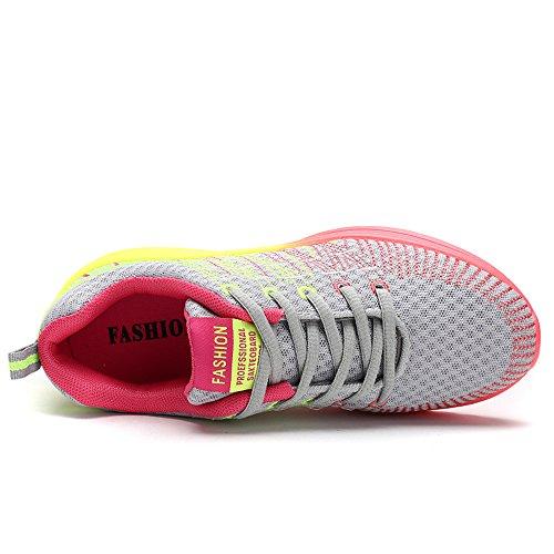 Femme Coussin Shoes Super Chaussures Course Chaussures Multisports Chaussure Gym Outdoor D'Air Sneakers Lee de de vv4qBw5