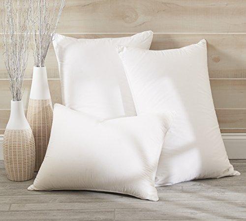 Dreamstead by Cuddledown Luxurious 700FP Goose Down Hypoallergenic Pillow, King Medium, (Aurora Down Pillow)