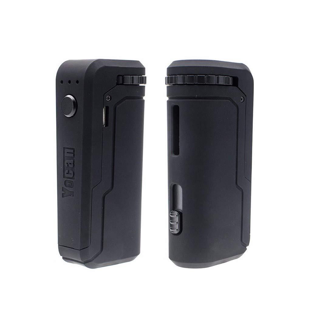 Genuine YOCAN* UNI 510 Battery1 MOD Device Adjustable Cart Sizing 650 mAh BLACK