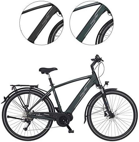 Fischer Herren-grün Viator 4.0i-Bicicleta eléctrica para Hombre ...
