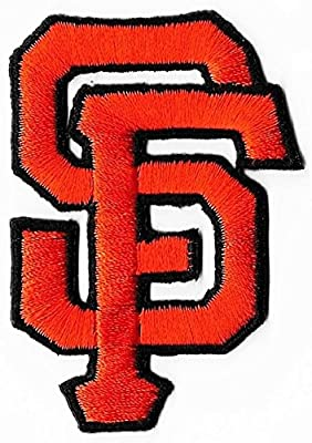 """San Francisco Giants Logo Baseball MLB Embroidered Iron On Patches Hat Jersey 1 3/4 x 2 3/4"""""""
