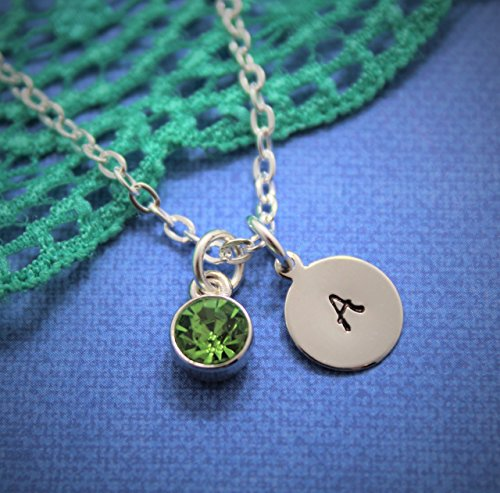 initial-necklace-initials-necklace-initial-necklace-silver-necklaces-with-initials-hand-stamped-init