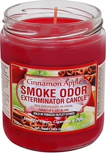 Smoke Odor Exterminator Candle - Smoke Odor Exterminator Candle Cinnamon Apple 13oz