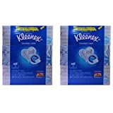 Kleenex Trusted Care White Facial Tissue, 160 2-Ply Tissues, (Pack of 6)