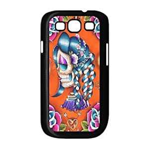 Samsung Galaxy S3 I9300 case, Skeleton girl Case Cover for Samsung Galaxy S3 I9300,Personalize The skull girl cell phone Case for Samsung Galaxy S3 I9300 moye-9773659 at monye.