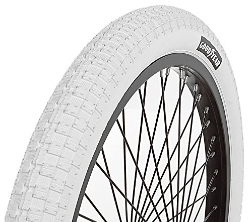 Goodyear Folding Bead BMX Bike Tire, 20 x 2.125, White