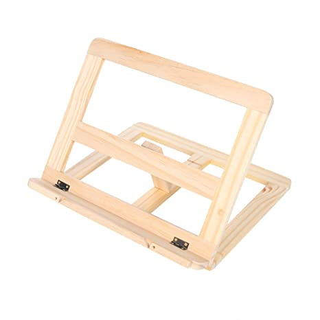 Solid Wood Reading Shelf Frame Multifunctional Middle School Students Writing Board Vertical Bookshelf Ipad Universal