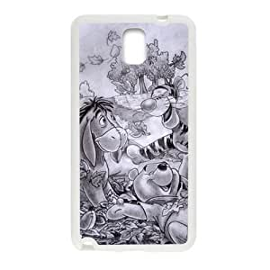 Winnie The Pooh And Tigger Fashion Comstom Plastic case cover For Samsung Galaxy Note3