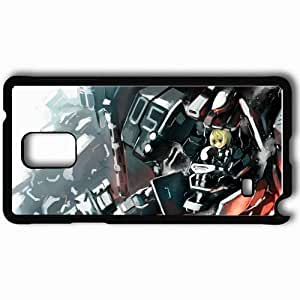 Personalized Samsung Note 4 Cell phone Case/Cover Skin Armored Core Black