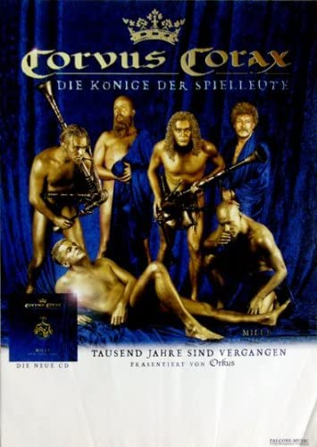 Corvus corax–2000–Tour Póster–Tour Póster–Concert