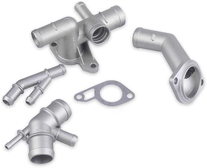 Kkmoon Upgrade Set Kühlmittelflansche Aluminiumlegierung Upgrade Kit Für Vw Golf 4 Jetta Gli Gti Tt 337 1 8t Auto