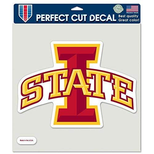 WinCraft Iowa State Cyclones Full Color Die Cut Decal - 8