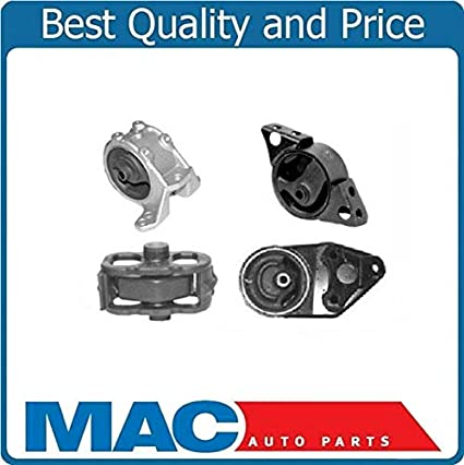 Array - amazon com  mac auto parts 64953 engine motor mount kit 4 piece for      rh   amazon com