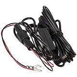 Transcend Hardwire Power - Cable (4 m, Macho/Macho, Negro)