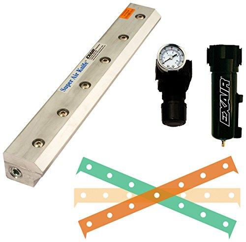 EXAIR 110260 Super Air Knife Kit, 2.9 SCFM per Inch Maximum Flow Rate, 80 psig