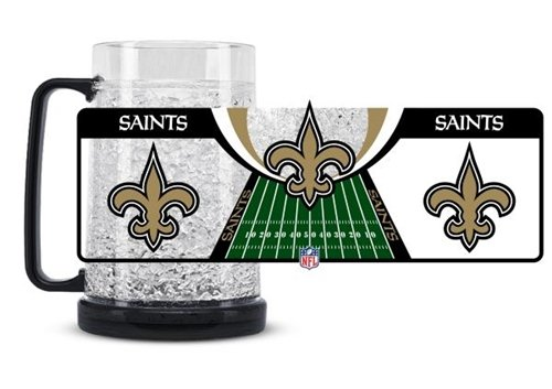 New Orleans Saints Crystal Freezer Mug Crystal New Orleans Saints Football
