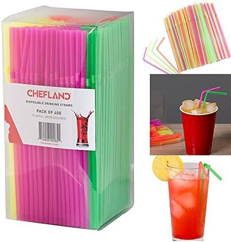 Rose Rose Rouge Paquet de 20 plastique Nouveaut/é Pailles /à Boire jetables Straws Spice Up Your Party Fun Jouets Jeux