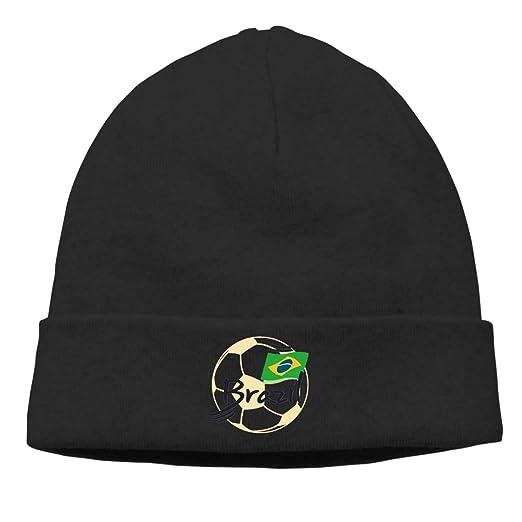 42df24fc75003f Warm Beanie Hats Brazil Football Soccer Elements Unisex Knit Skull Cap at  Amazon Men's Clothing store: