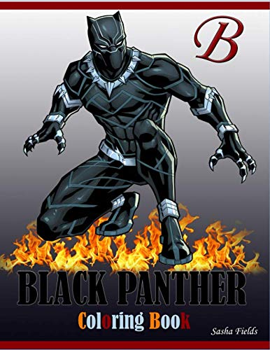 Search : Black Panther Coloring Book: black panther coloring pages