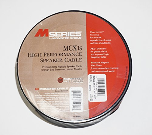 Monster M Series MCX-1s High Performance Speaker Cable