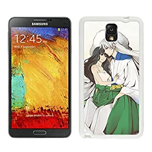 Grace Protective InuYasha 18 White For Case HTC One M7 Cover