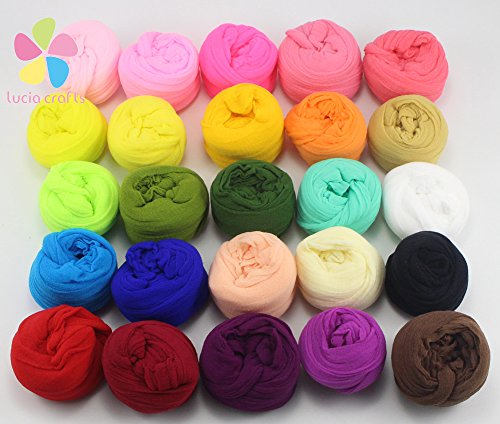 2.5m nylon stocking flower material handmade accessory (20colors/pack 1pc/color)