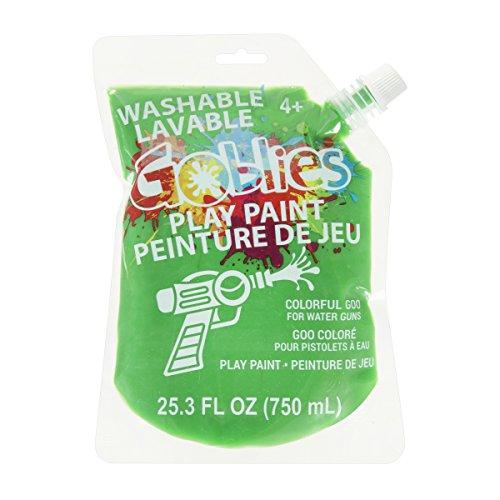 Goblies 30062896 25.3 Fl. Oz. Play Paint for Water Guns, Green