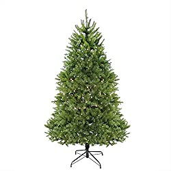 Northlight Pre-Lit Northern Pine Full Artificial Christmas Tree with Warm Clear LED Lights, 12'