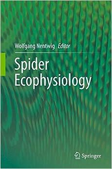 Spider Ecophysiology