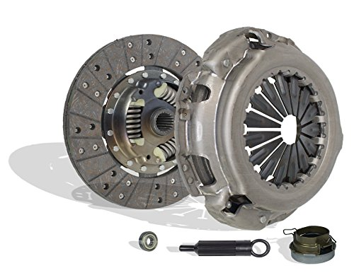 (Clutch Kit Set Works With Toyota Tacoma T100 Base Pre Runer SR5 One-Ton Standard Extended Cab Pickup 1993-2011 2.7L l4 GAS DOHC 3.0L V6 GAS SOHC Naturally Aspirated (2Wd; 4Wd))