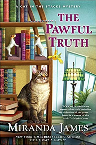 book cover: The Pawful Truth by Miranda James
