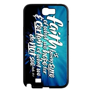 Custom Bible Verse Design Plastic Case for Samsung Galaxy Note 2