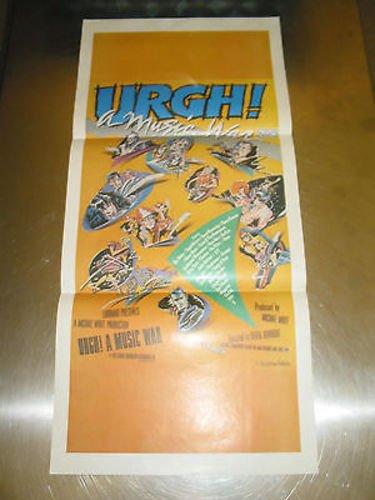 UGH! A MUSIC WAR /ORIG.AUS. DAYBILL (X/ OINGO BOINGO/THE POLICE/DEVO/JOAN JETT) (Ugh Store)