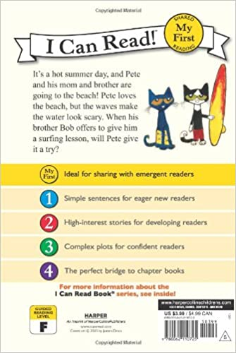 Counting Number worksheets kindergarten sentence writing worksheets : Pete the Cat: Pete at the Beach (My First I Can Read): James Dean ...
