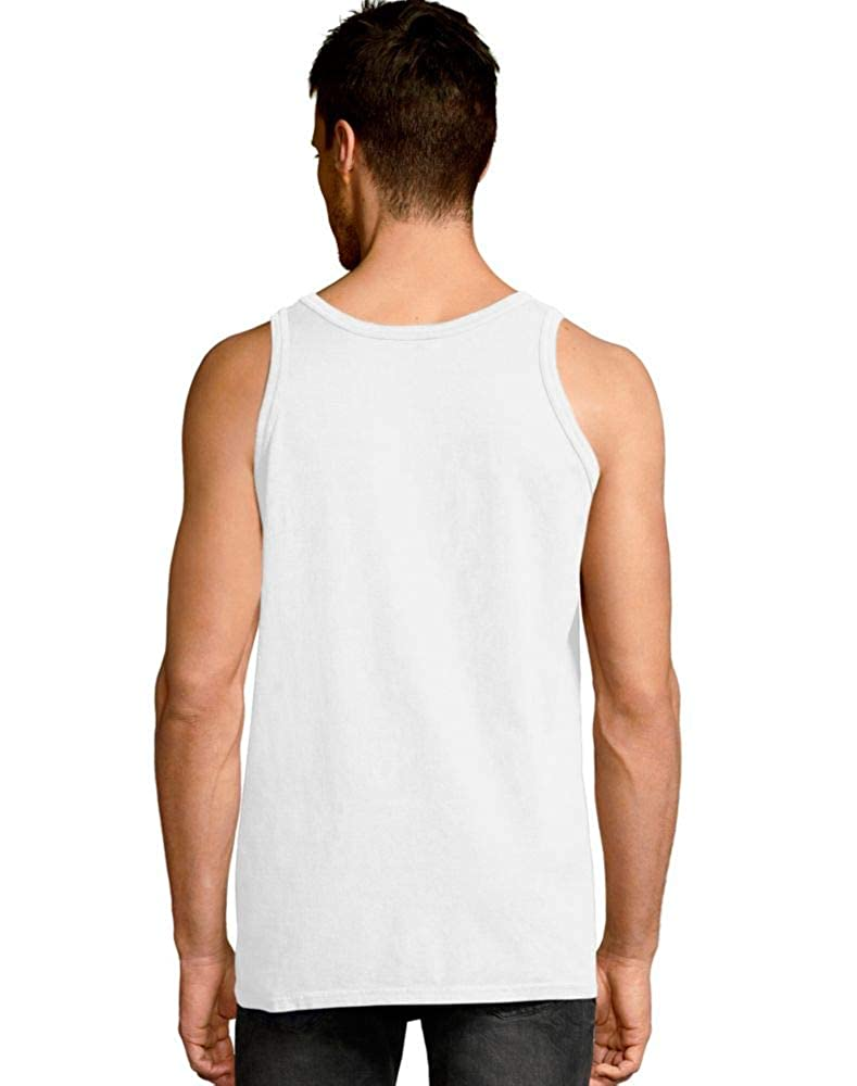Hanes Mens ComfortWash Garment Dyed Sleeveless Tank Top GDH300 GRTDYE
