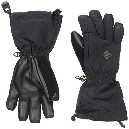 Burton Youth Profile Gloves, True Black, X-Small