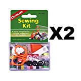 Coghlan's Sewing Kit 26-Piece Emergency Clothing Repair Kit for Camping (2-Pack)