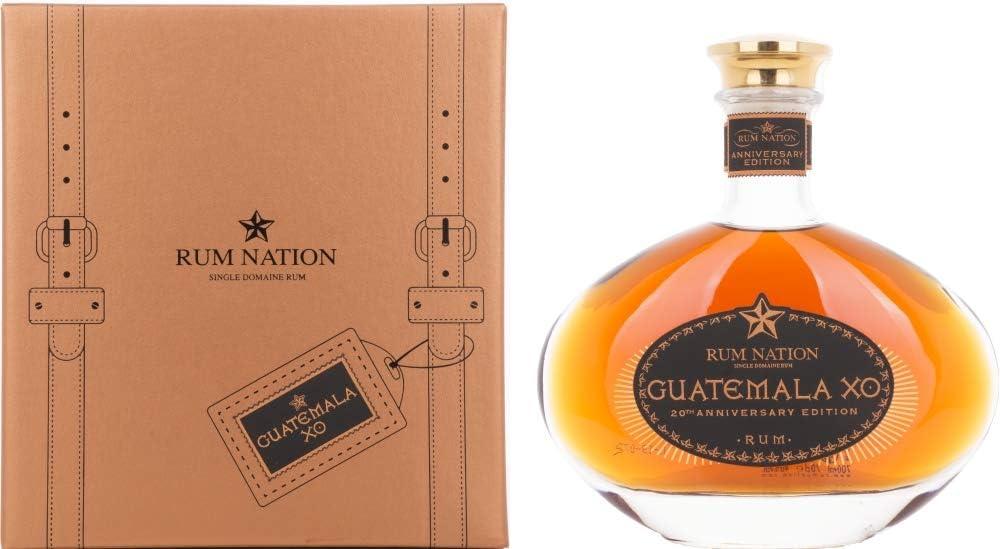 Rum Nation Guatemala XO 20th Anniversary Edition 40% - 700 ml in Giftbox